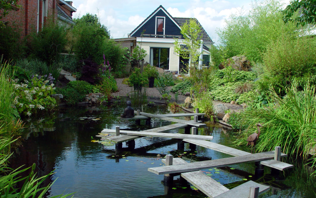 Japanse tuin in Oudega