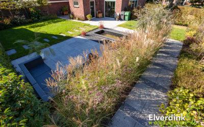 Moderne Tuin aan de Tuije Garijp