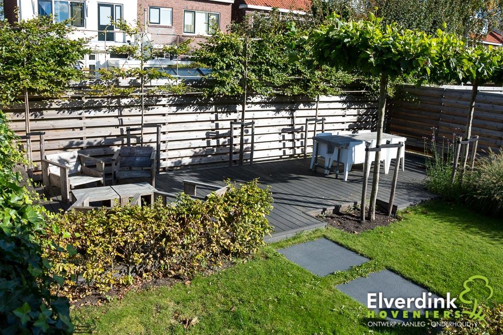 Kindvriendelijke tuin: strakke stadstuin