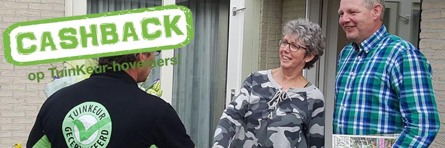 Eerste prijs landelijke CASHBACK-actie valt in Garijp
