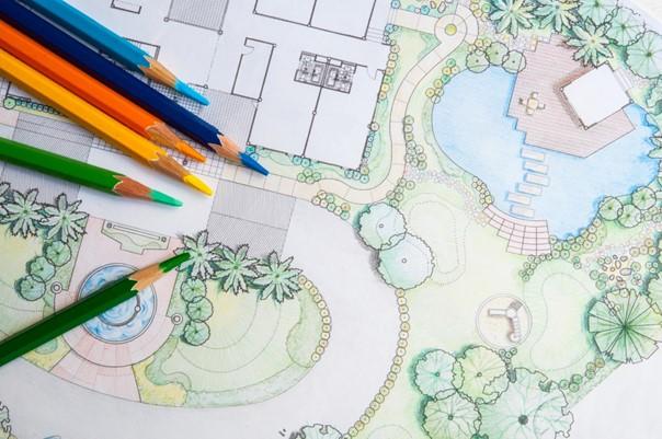 Tip 1: Begin meteen goed met een tuinontwerp